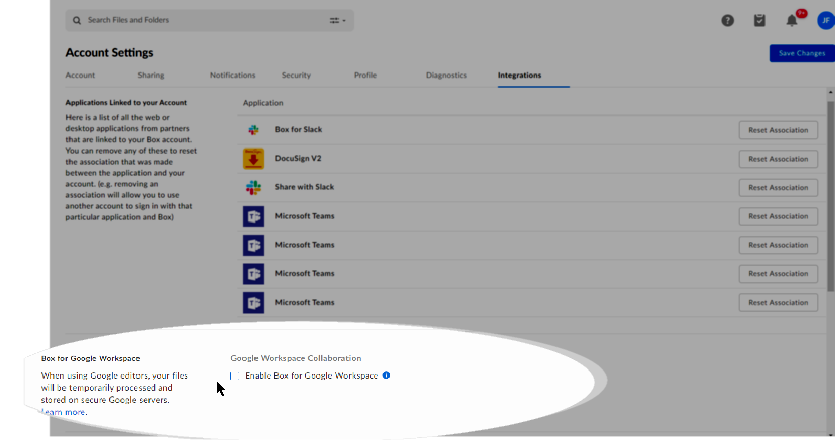 Installing And Enabling Box For Google Workspace For Your Free Personal Box Account Box Support